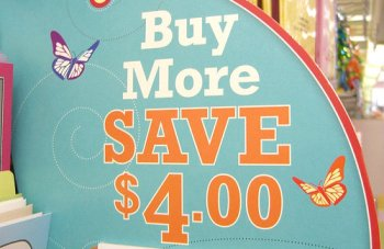 Save money - by shopping (Photo by Toban Black - http://www.flickr.com/photos/tobanblack)