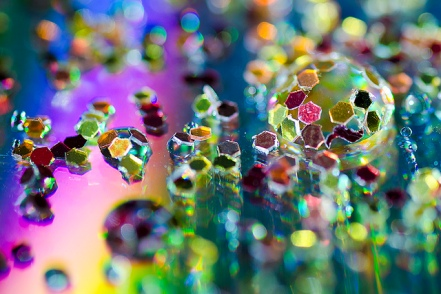 Water glitter (Sourced from G. Crouch on flickr [http://www.flickr.com/photos/crouchy69] Used under CC-A-NC licence - http://creativecommons.org/licenses/by-nc/2.0/deed.en