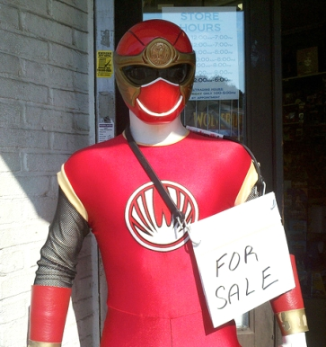 Power Ranger for sale (Photo by Peter Dutton: https://www.flickr.com/photos/joeshlabotnik)