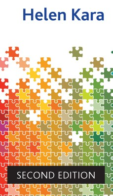 A detail from the cover of the book, showing Helen's name and the words 'Second Edition'. The cover design shows different jigsaw puzzle pieces fitting together.