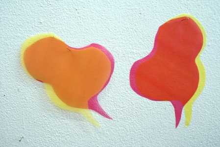 Speech bubbles at Erg by Marc Walthieu | flickr.com | Shared via CC BY-NC-ND 2.0