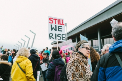"Photo by Alex Mazzarello | unsplash.com >> ""Protestors in Vancouver, BC as part of Women's March on Washington, Vancouver chapter."""