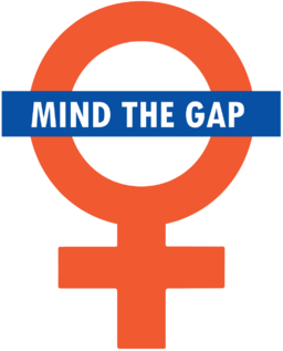 Mind the Gap goes feminist! by London Student Feminists [CC BY-SA 3.0]