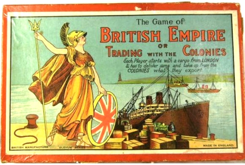 Image from severnbeachantiques.com/c1930s-glevum-british-empire-board-game-complete