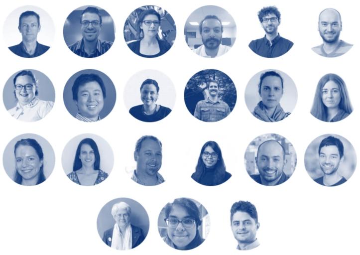 The team at Melbourne Data Analytics Platform